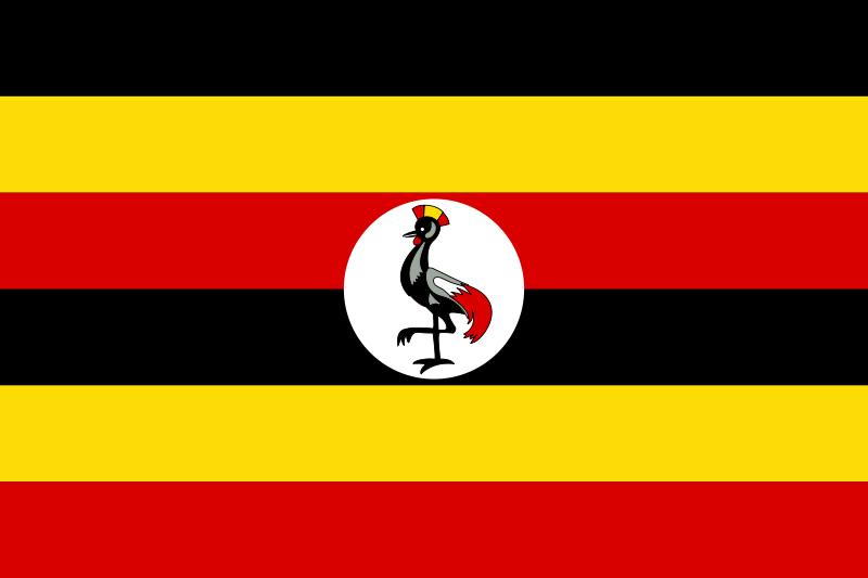 Flag of Uganda. (Wikipedia)
