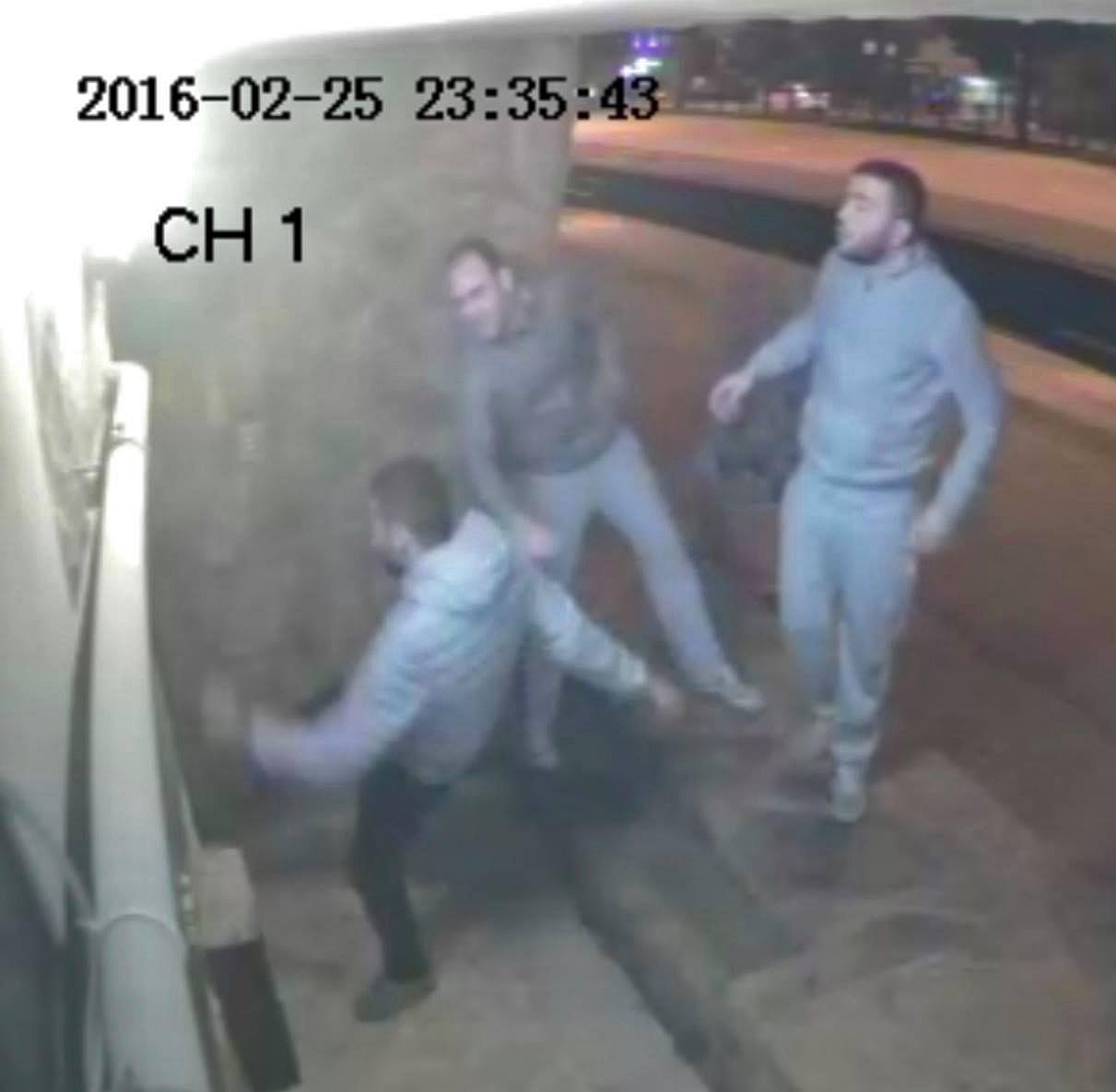 Security camera recorded attack on church building in Samsun, Turkey. (Morning Star News)