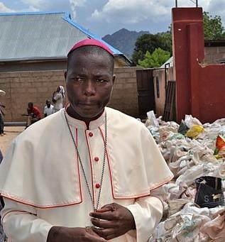 Catholic Bishop of Yola DIocese Stephen Mamza. (Wikipedia)