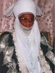 Alhaji Yahaya Abubakar, Muslim leader of the Nupe ethnic group in Bida, Niger state.