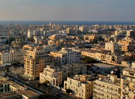 Benghazi, Libya. (Wikimedia, Dennixo)