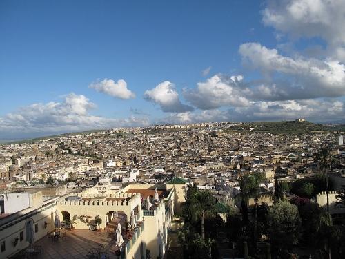 Fez, Morocco. (Wikipedia, Zimaal)