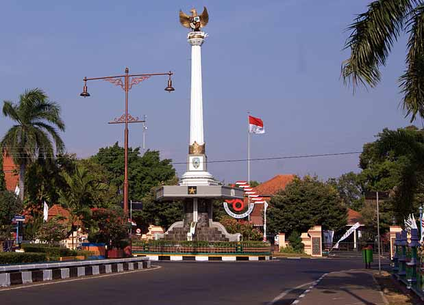 Jepara monument, Central Java, Indonesia. (Wikipedia)