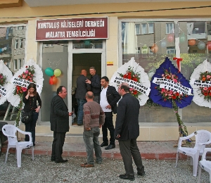 Opening of new church in Malatya on April 18. (Morning Star News)