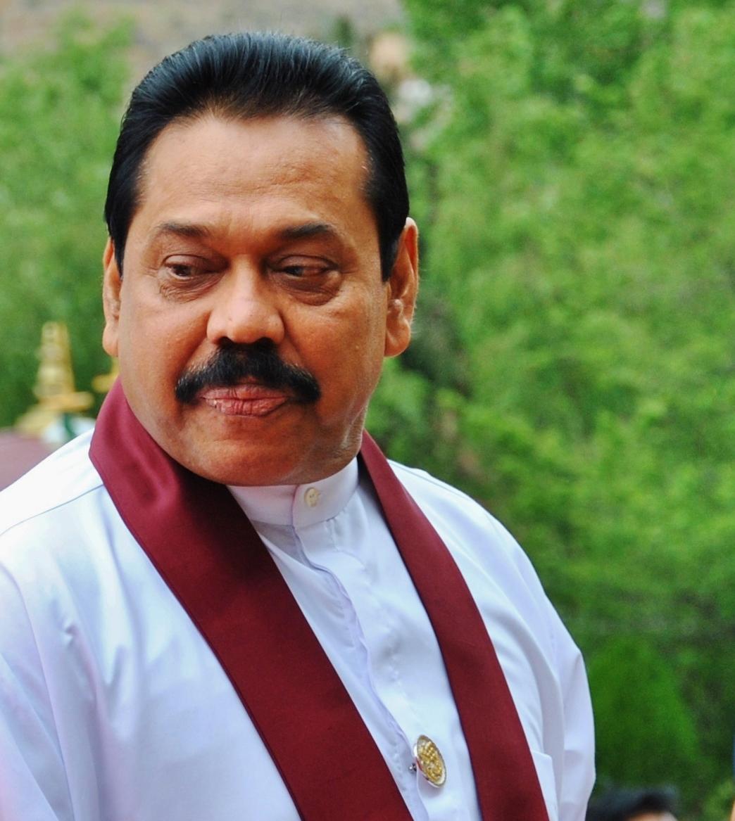 Sri Lanka President Mahinda Rajapaksa. (Morning Star News)