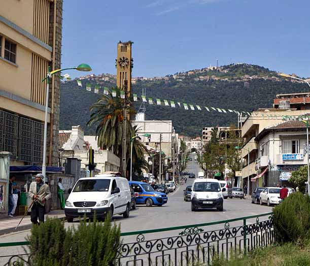 Tizi Ouzou, in northern Algeria. (Wikipedia)