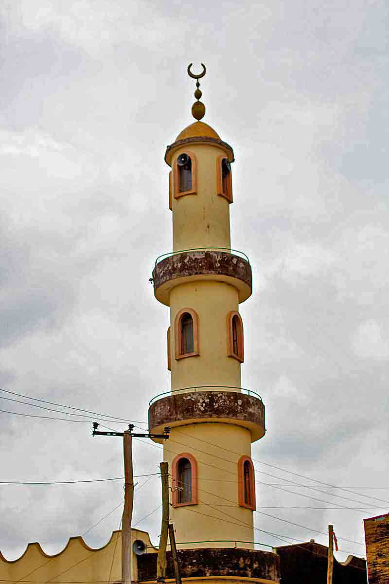 Mosque in Jimma, Oromia Region, Ethiopia. (Wikipedia)