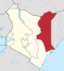 Kenya's North Eastern Province. (Wikipedia)