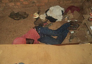 The body of Laurence Maiso. (Morning Star News)