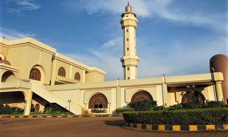 Gaddafi National Mosque in Kampala, Uganda. (Wikipedia, Laika, ac