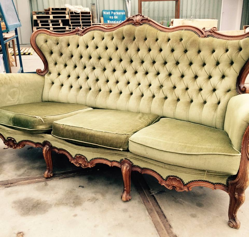 groene stoel, kweekcafé
