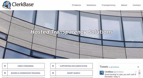 ClerkBase homepage