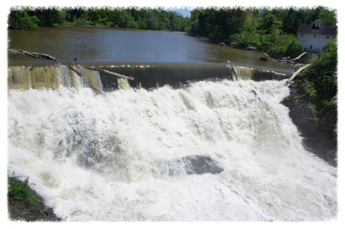 Beaver Falls aka Valatie Kill Falls, Valatie, NY