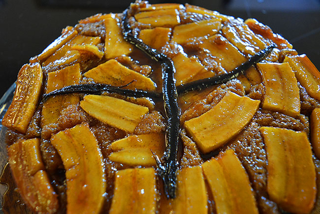 Upside-Down-Banana-Cake
