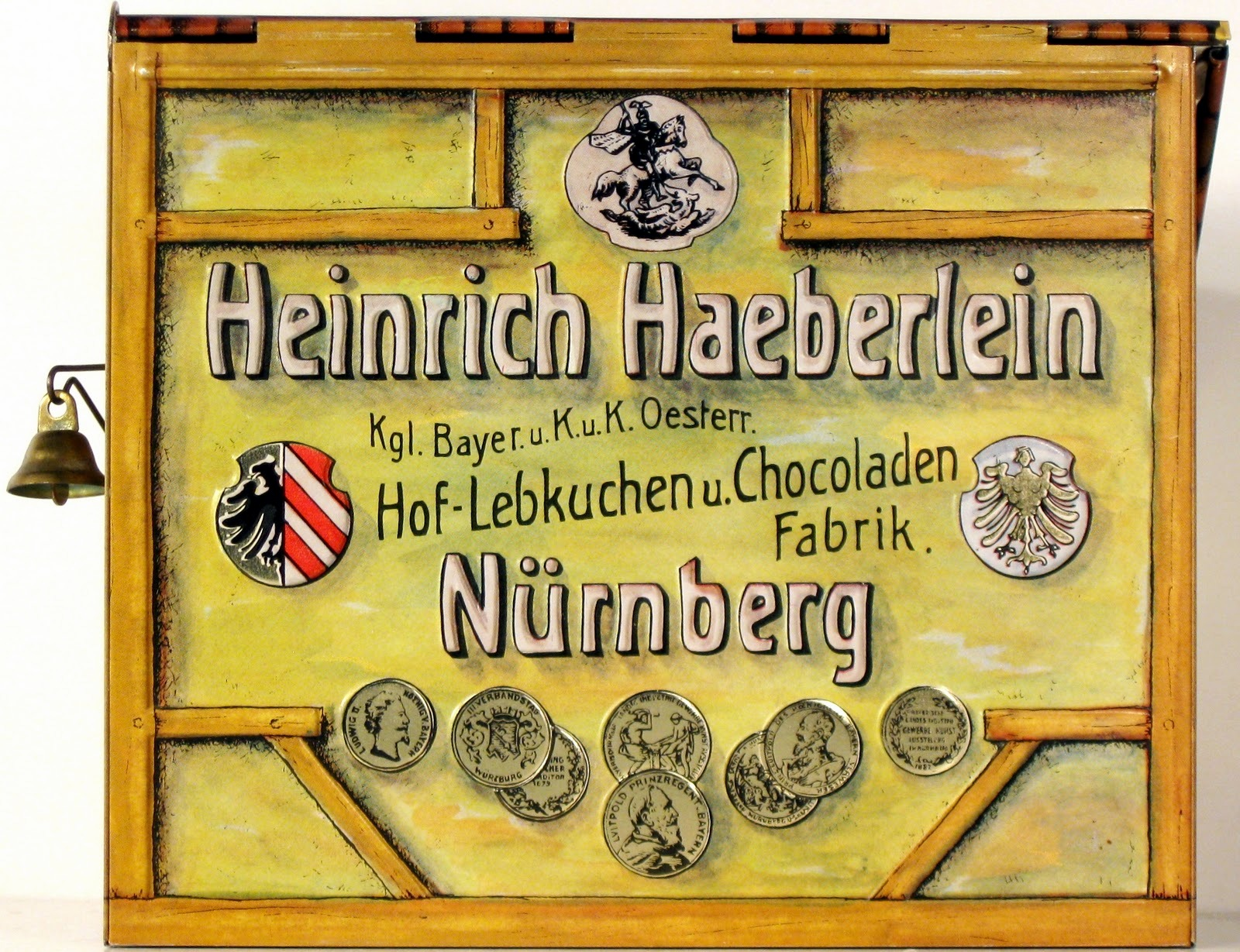 sign of Lebkuchen factory