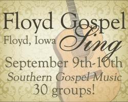 Floyd Gospel Sing - September 9th - 10th, 2011