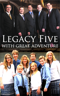 Legacy Five and Great Adventure Gospel Band