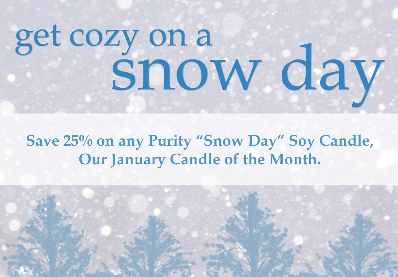 Snow Day Purity Candles