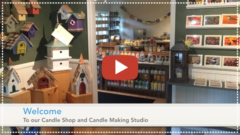 Candle Making on Madeline Island
