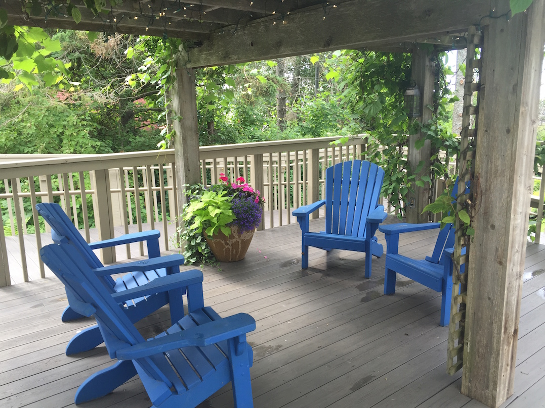 Madeline Island Deck