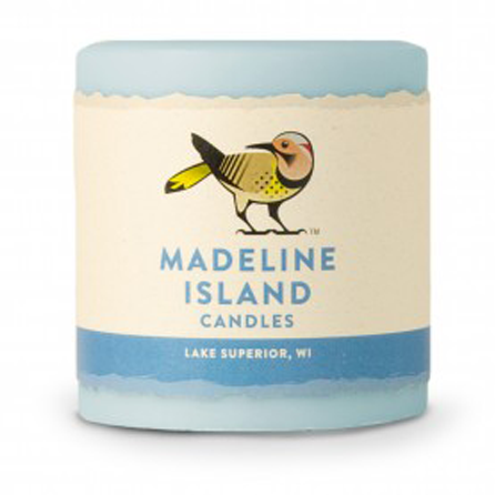 madeline island candles pillar