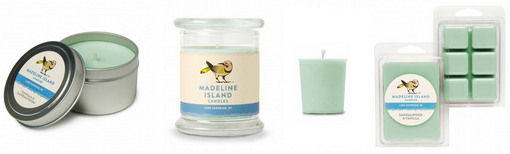 Vanilla & Sandalwood Candles