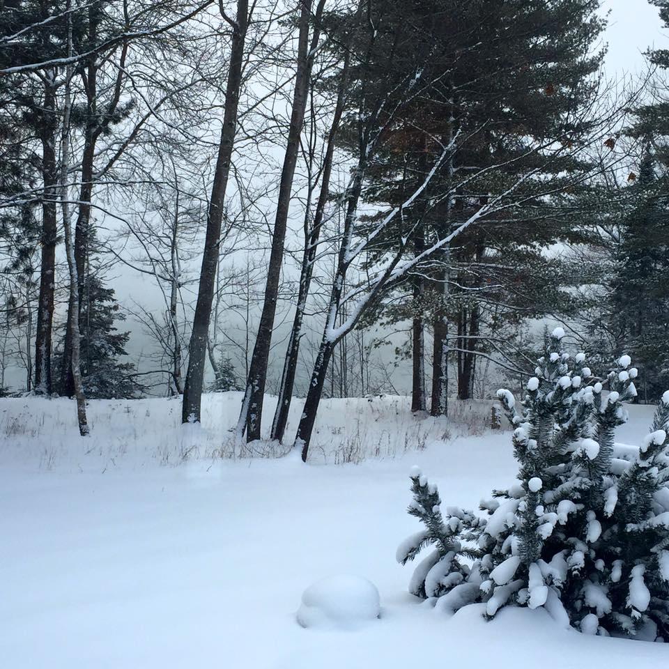 Madeline Island Snow