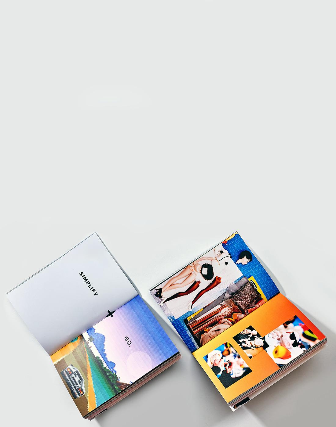Softcover Brand Books.