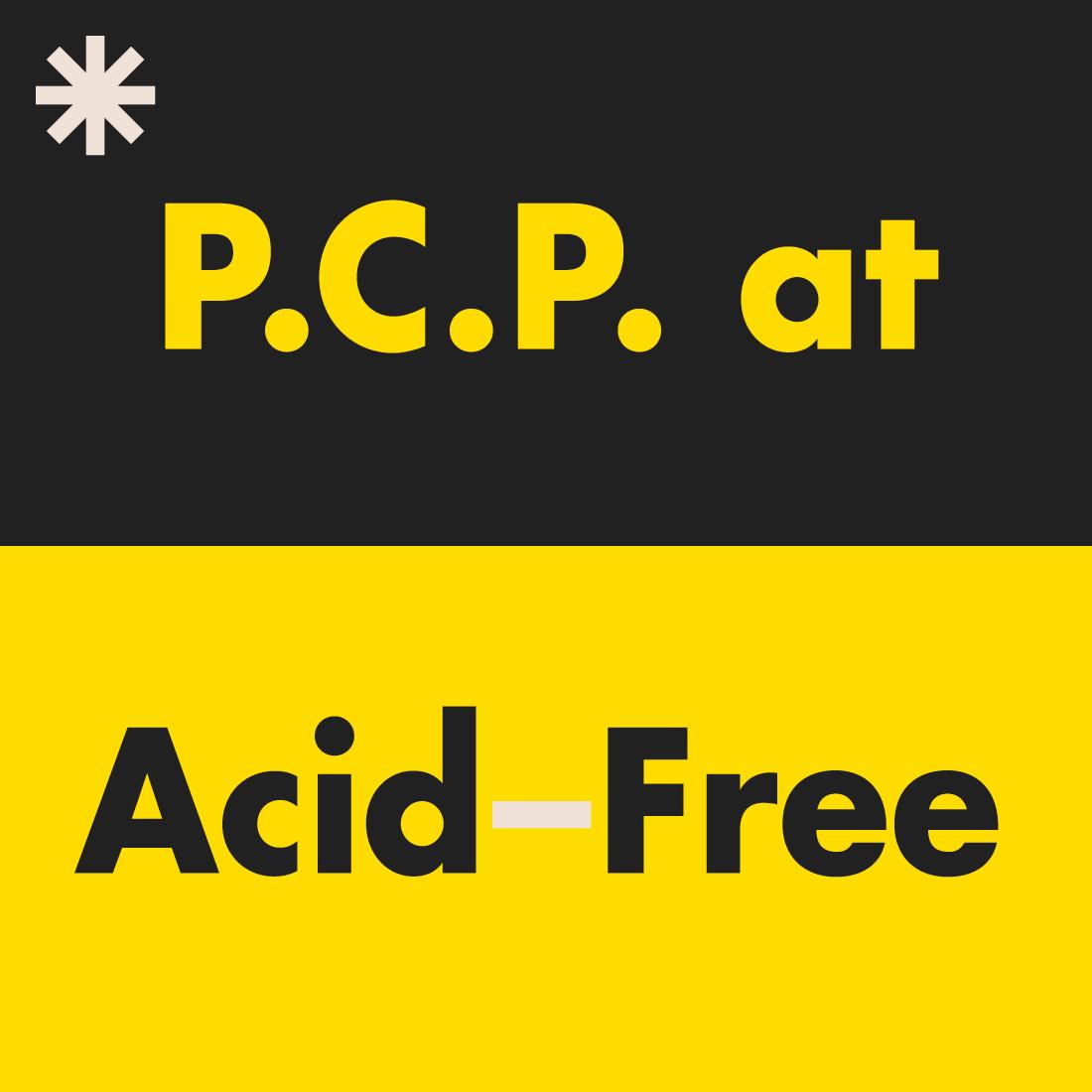PCP at Acid-Free.