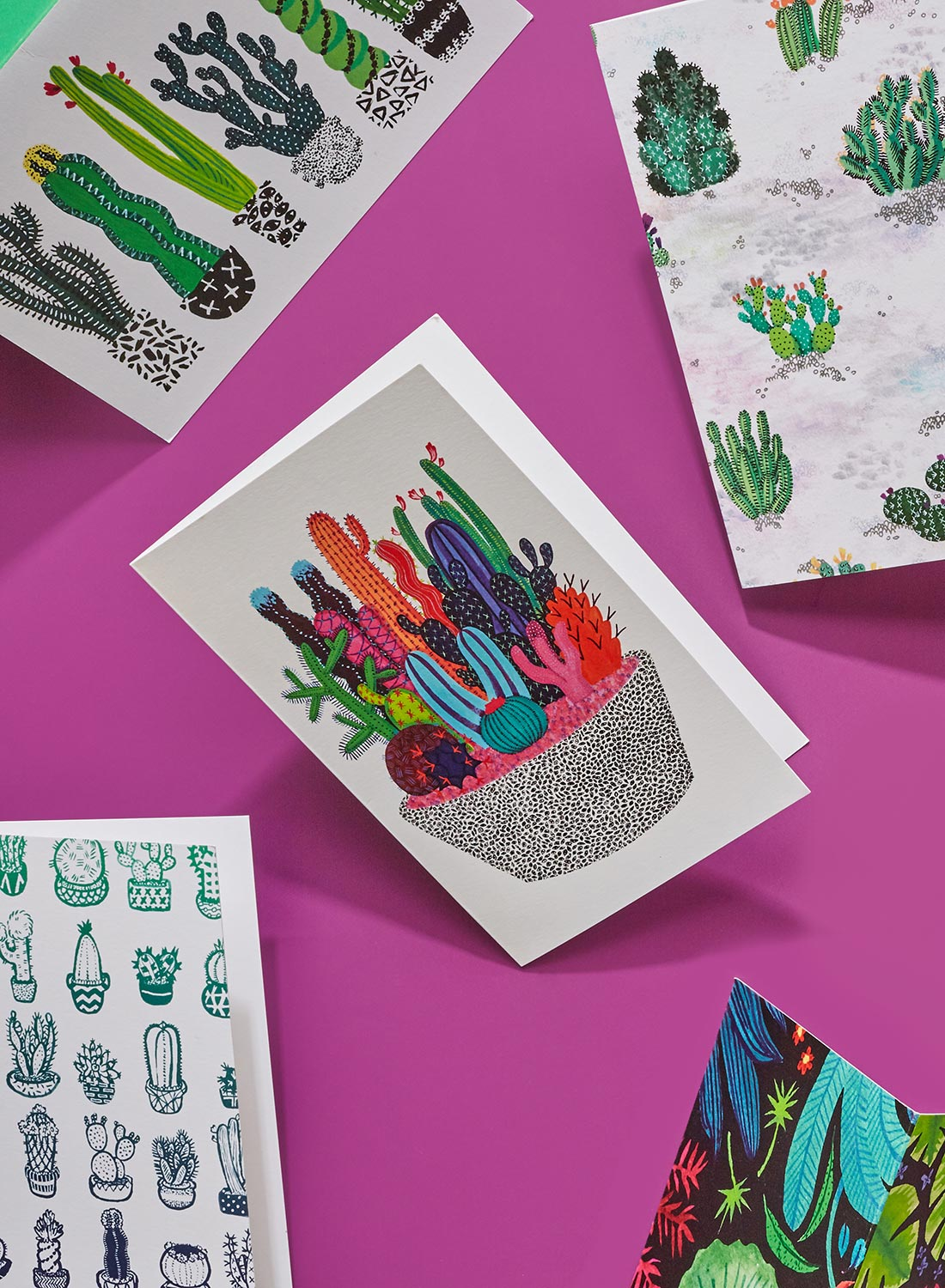 Cactus Club Folded Cards.