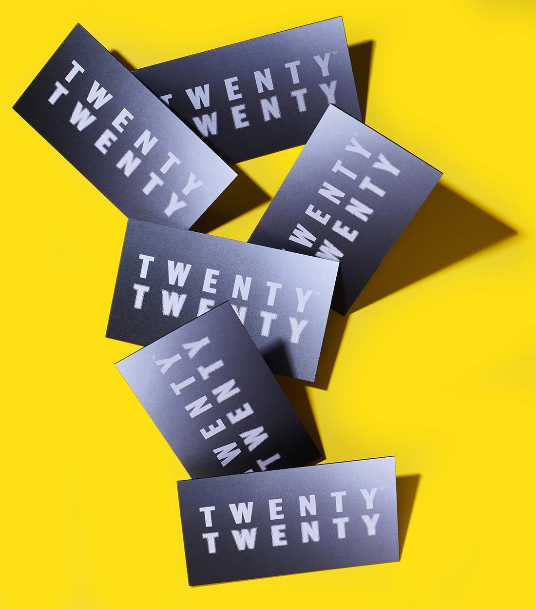 Twenty Twenty Business Cards.