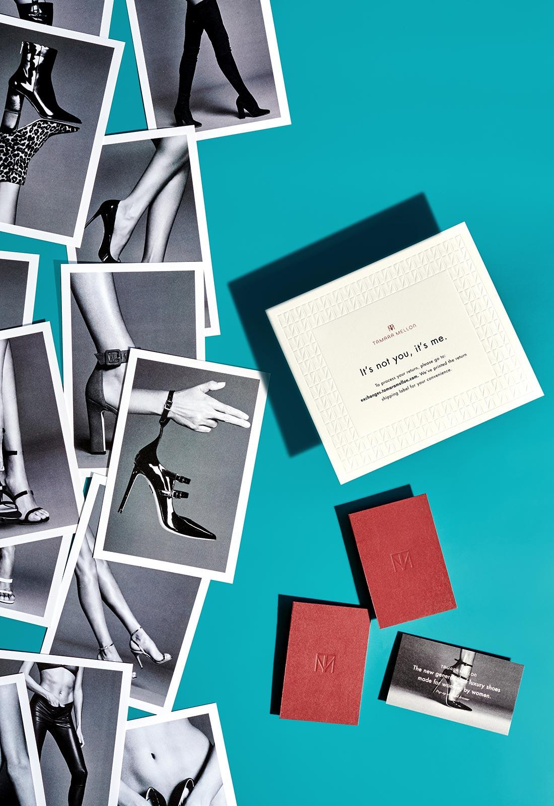 Tamara Mellon brand suite.