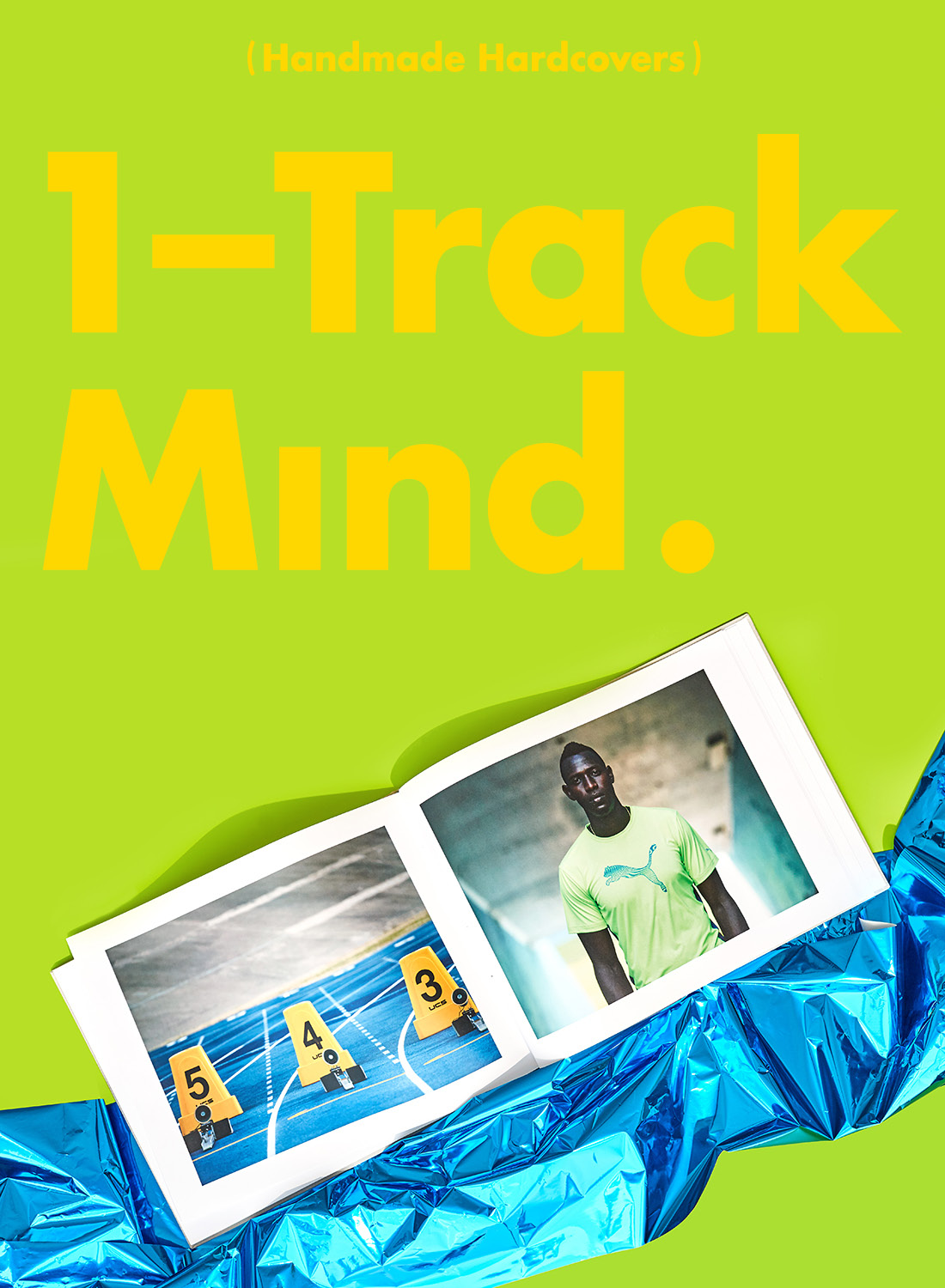 1-Track Mind — Hardcover Books.