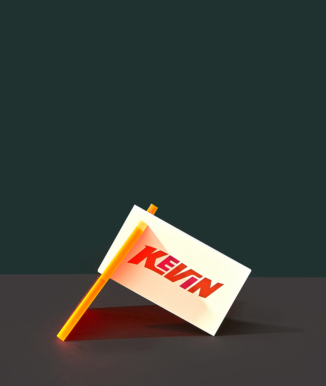 'Kevin' Business Card.
