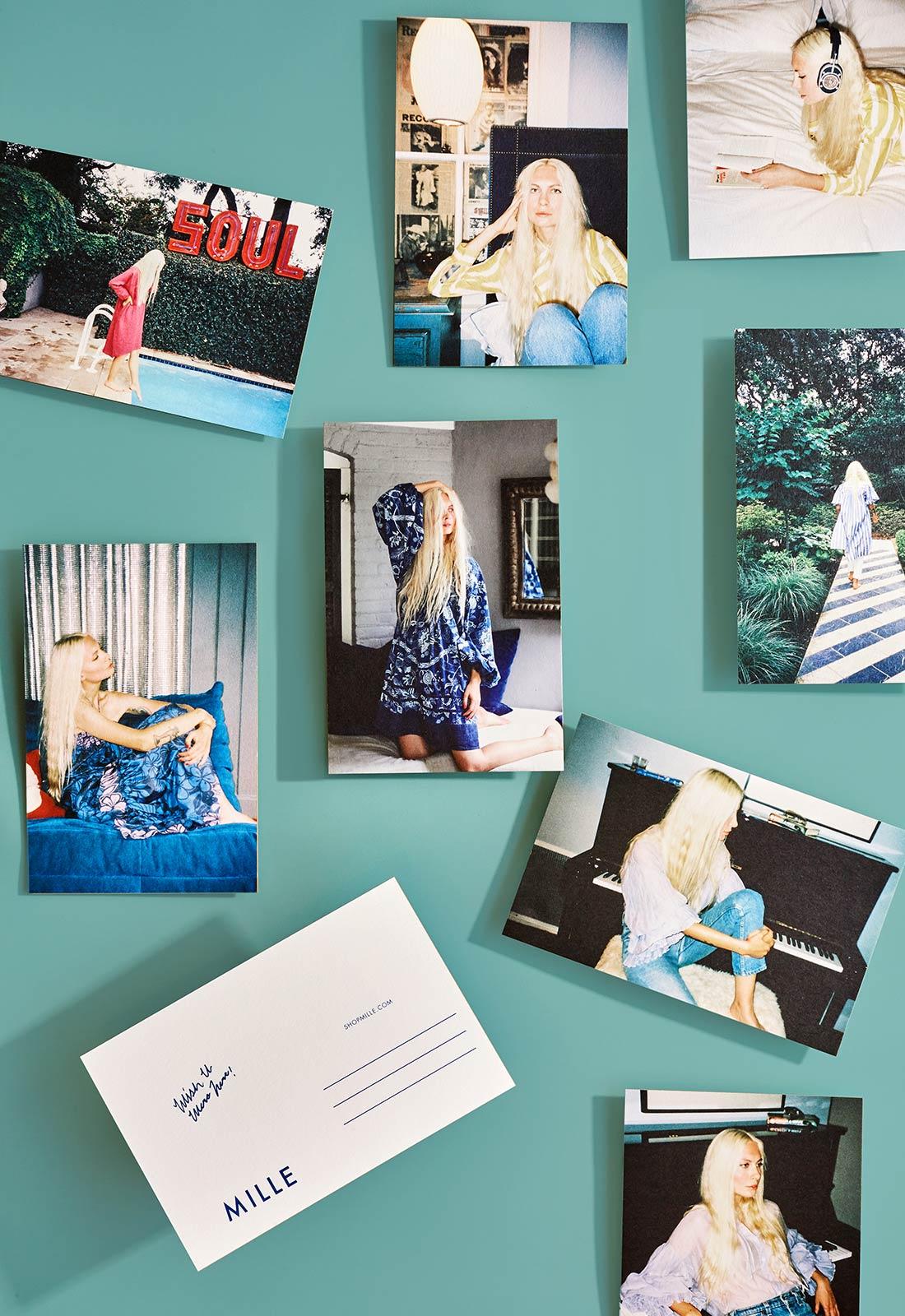 MILLE Postcards.