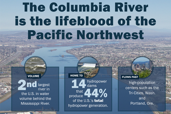 Learn about the importance of the Columbia River with this printable infographic.