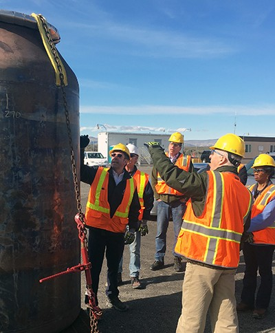 Leaders from WRPS and WTCC tour the Vit Plant jobsite.