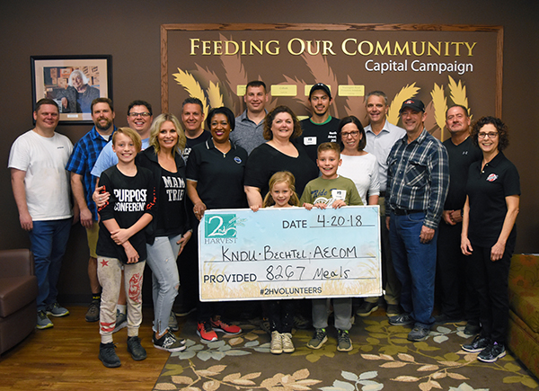 The 2018 Feeding Families Food Drive raised more than $56,000 and 774 pounds of food for Second Harvest Tri-Cities