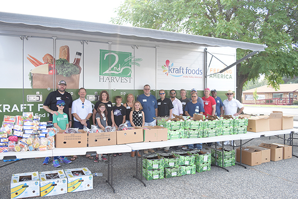 A group of more than 20 Vit Plant employees helped serve members of the community during the Second Harvest Tri-Cities Mobile Market in Kennewick.