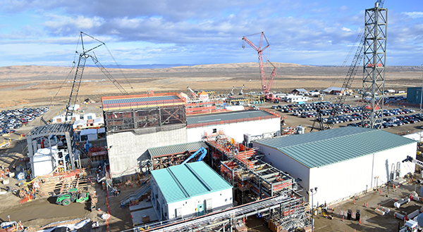 The Effluent Management Facility is the final major construction effort to support DFLAW