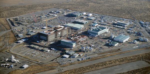 The Hanford Vit Plant construction site.