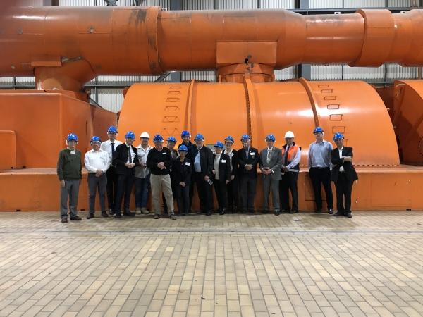 WSROC and representatives at Mt Piper power station