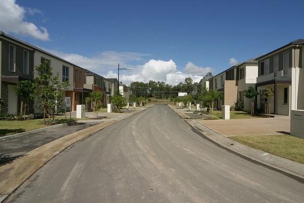 Medium density housing in Western Sydney.