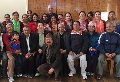 Nepalese community group at Cumberland Council waste education workshop.