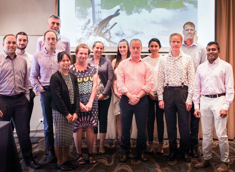 Parramatta River litter working group