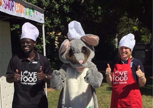 Shop.Cook.Save. event at Wentworthville Community Gardens.
