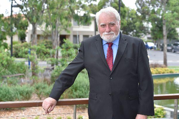 WSROC President Mayor Barry Calvert.