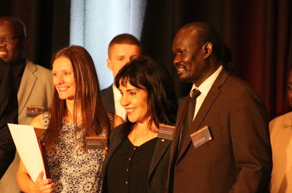 Zest Award winners pose for a photo. Image: ZEST