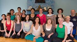 More happy Burren Yoga retreat participants ;-)
