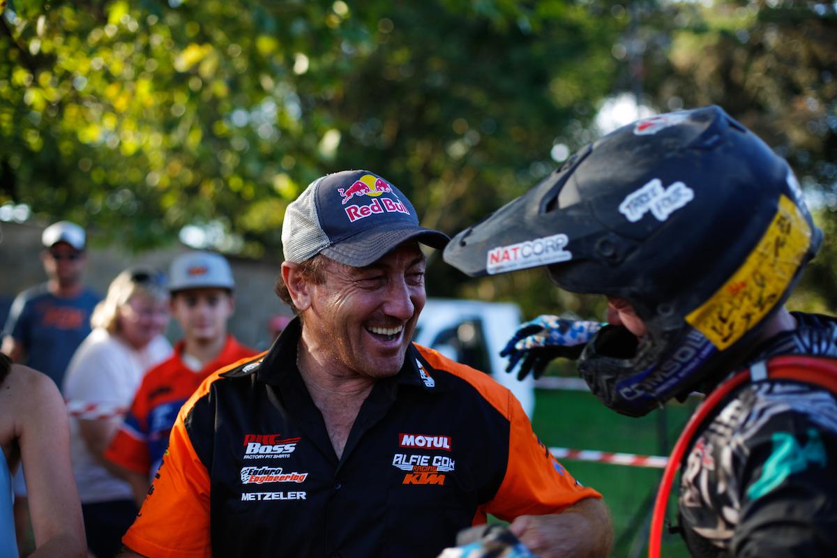 Ross Branch Alfie Cox Toyota Desert Race